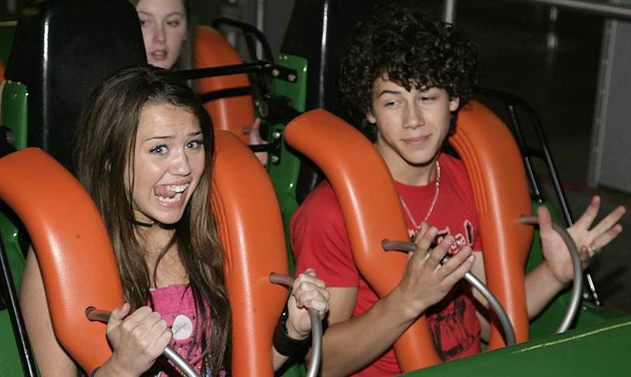 Nick and Miley dated when they were both teenagers.
