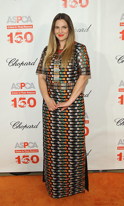 Drew Barrymore attended the 19th Annual ASPCA Bergh Ball at The Plaza Hotel in New York City.