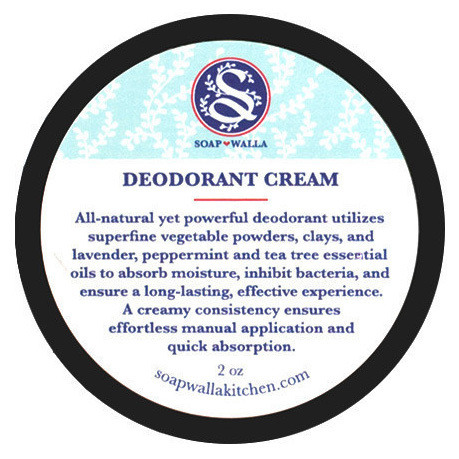 <p>This mix of clays, lavender, peppermint and tea tree essential oils work to absorb moisture and keep you fresh all day.</p>