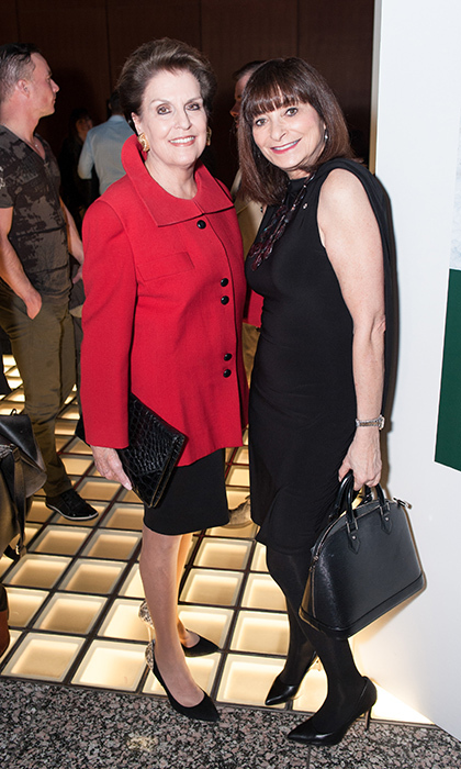 Catherine Nugent and Jeanne Beker