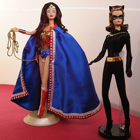 Even superheros Wonder Woman and Catwoman made the cut.