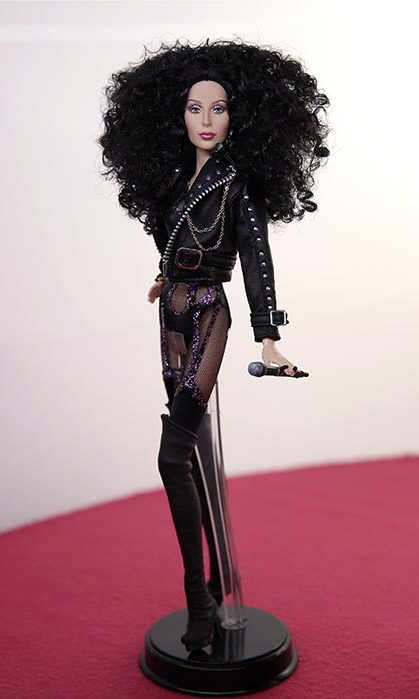 Superstar Cher from the <em>If I Could Turn Back Time</em> music video.