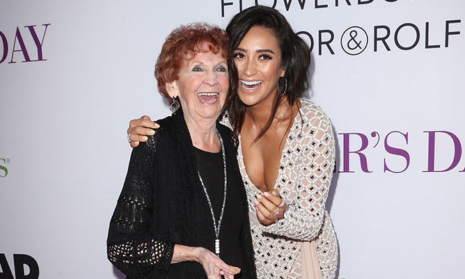 Sweet Home By Shzyr: Shay Mitchell Calls Her Grandmother Her Best Friend In