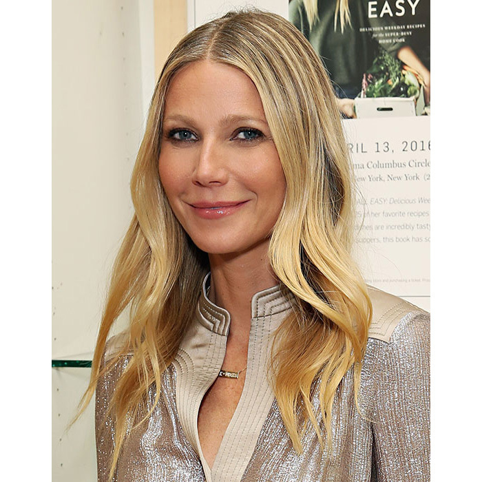 Gwyneth Paltrow looked every inch a beauty icon as she signed copies of her new book It's All Easy, turning heads with her blonde hair worn down in a sleek blow-dry style, paired with statement smokey eye make-up.