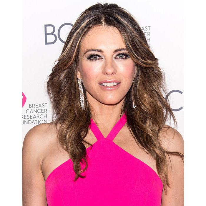 Elizabeth Hurley was simply dazzling at the Breast Cancer Research Foundation Hot Pink Party, her hair down in cascading curls with heaps of volume, paired with a glamorous eyeliner look for ultimate wow factor.