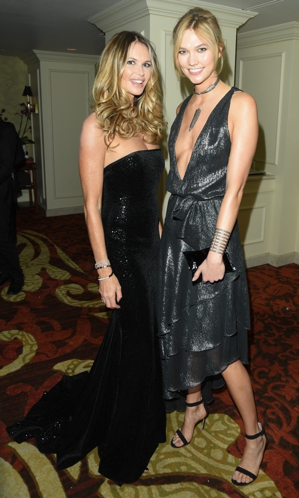 Elle Macpherson and Karlie Kloss