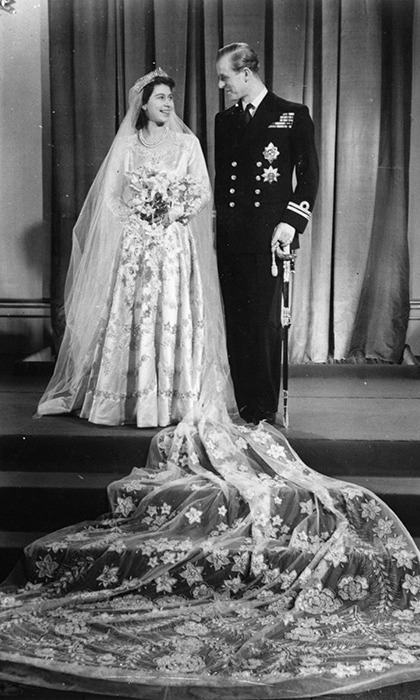 The couple married on the 20 November 1947.