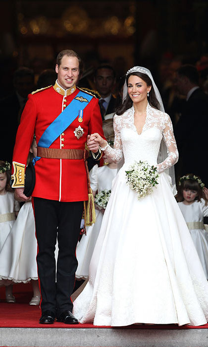 Prince William married Kate Middleton in 2011.