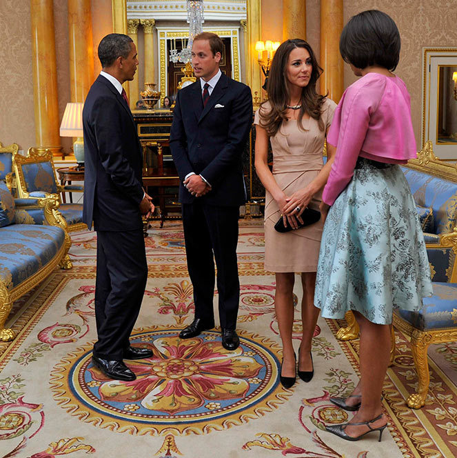The Obamas To Visit Prince William, Kate And Prince Harry
