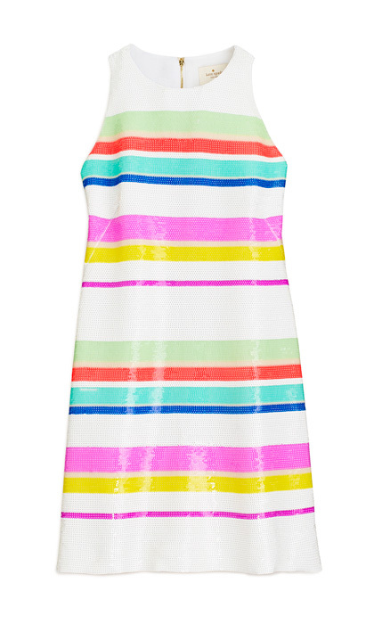 <strong>Kate Spade Stripe Sequin Dress</strong>, $698, 