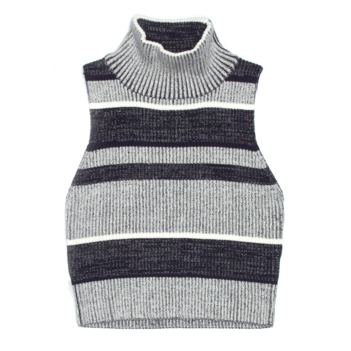 <strong>Finders Keepers High-Neck Sleeveless Sweater</strong>, $175,