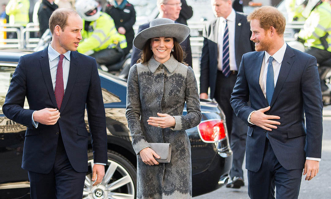 The perfect escorts! During Commonwealth Observance Day, William and Harry made sure that Kate Middleton was the center of attention.