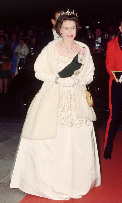 A fan of recycling, the Queen has been known to alter dresses or change hemlines to extend the life of her wardrobe. 
