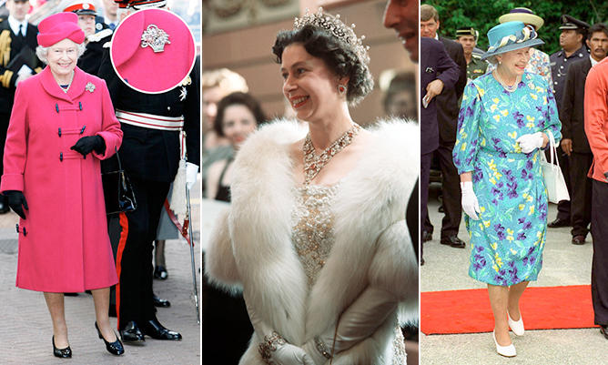 "Her Majesty's sense of fashion has inspired couturiers and celebrities alike. Trends may change, but <a href=""/tags/0/queen-elizabeth-ii/"">the Queen</a>'s good taste always reigns!