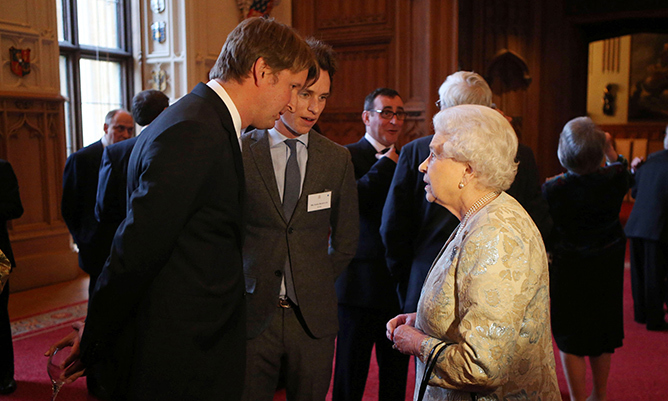 <strong> Eddie Redmayne</strong>