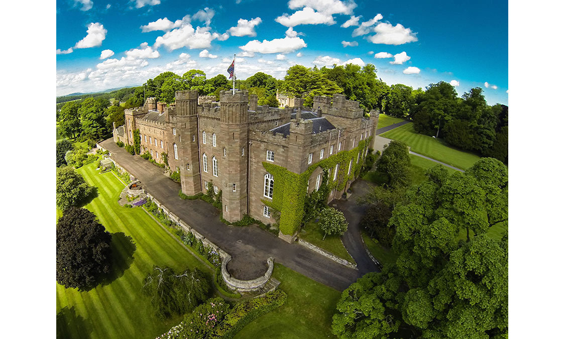 <h3>Balvaird Apartment at Scone Palace, Scotland</h3>