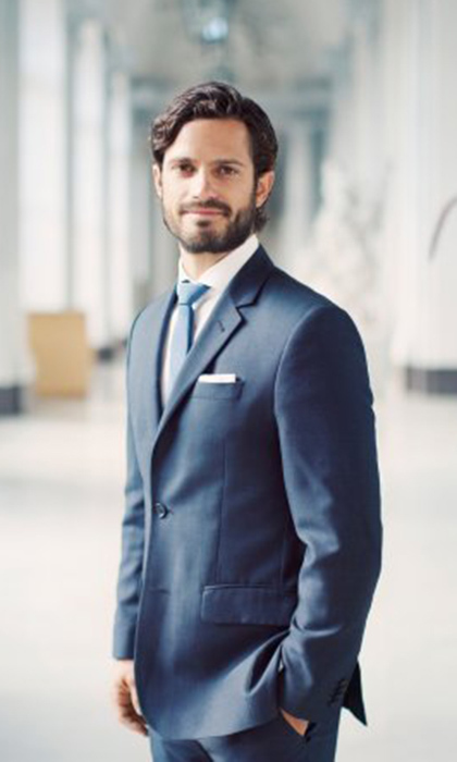 Fatherhood isn't the only new project on the agenda for <b>Prince Carl Philip of Sweden</b>. The handsome royal has also created a line of spring bathroom products for his home company Bernadotte & Kylberg, the interior design business he started in 2012 with fellow designer Oscar Kylberg.