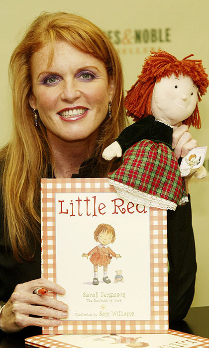 From diet books and autobiographies to numerous children's series, <b>Sarah, Duchess of York</b> has written a vast library. In the late '80s she even penned books about a helicopter named Budgie, which inspired a successful children's television series of the same name. More recently she has added the <em>Little Red</em> series to the mix, inspired by her own distinctive hair colour. 