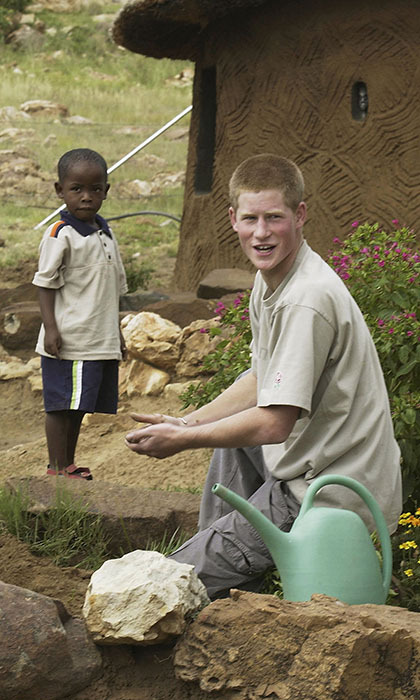 In 2005, after his life-changing gap year, <b>Prince Harry</b> turned his hand to documentary filmmaking in an effort to raise awareness for a cause close to his heart. <em>The Forgotten Kingdom – Prince Harry in Lesotho</em> focused on a number of issues in developing countries: limited education, the AIDS epidemic and poverty among them. The same experience that elicited the documentary also led Harry to start his charity Sentebale, which he co-created with Prince Seeiso of Lesotho.