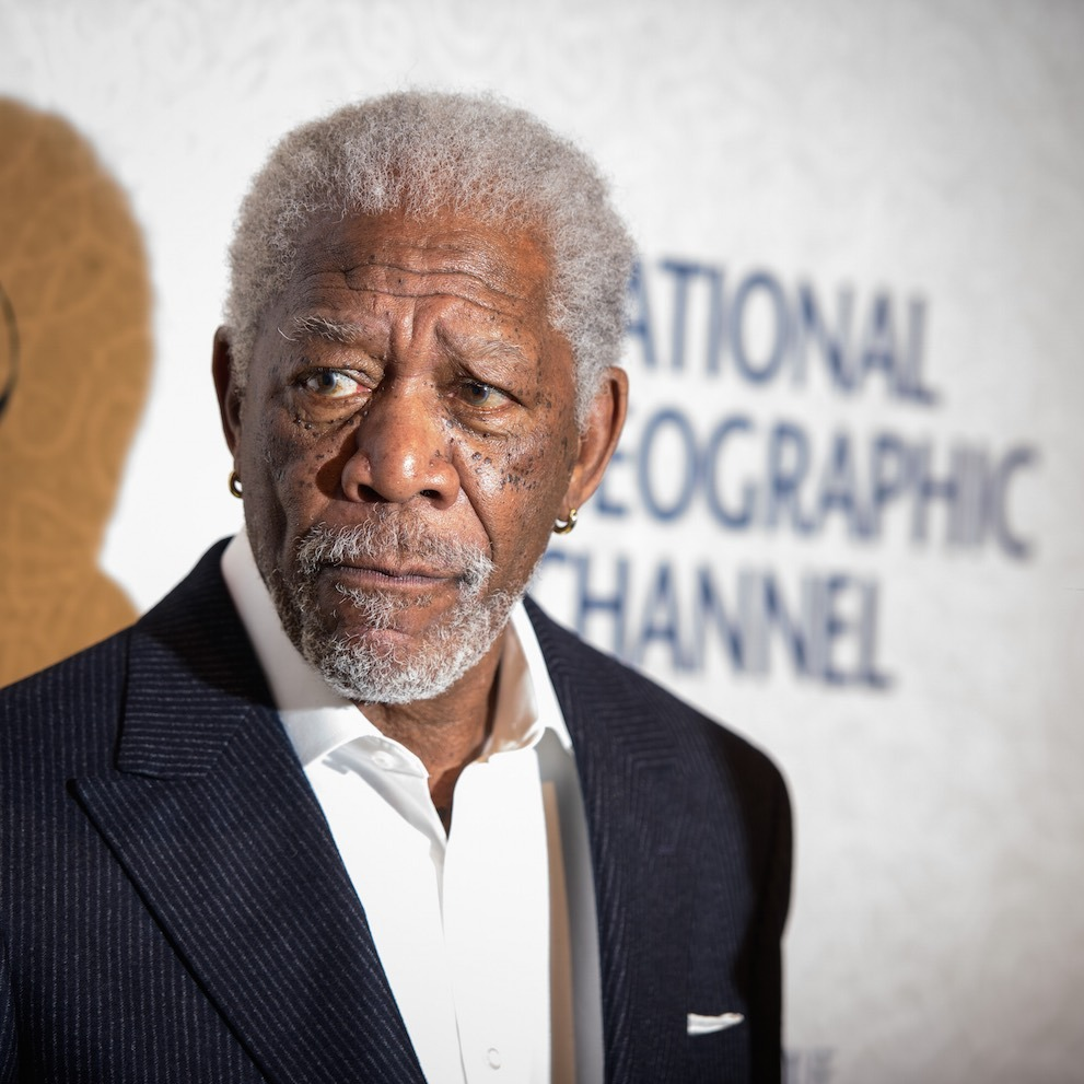 <h3>MORGAN FREEMAN</h3>