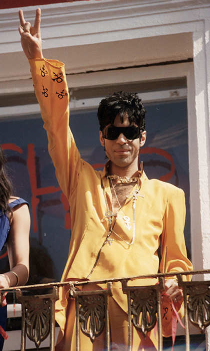 In 1993 Prince famously changed his stage name to an unpronounceable symbol, also known as the Love Symbol.