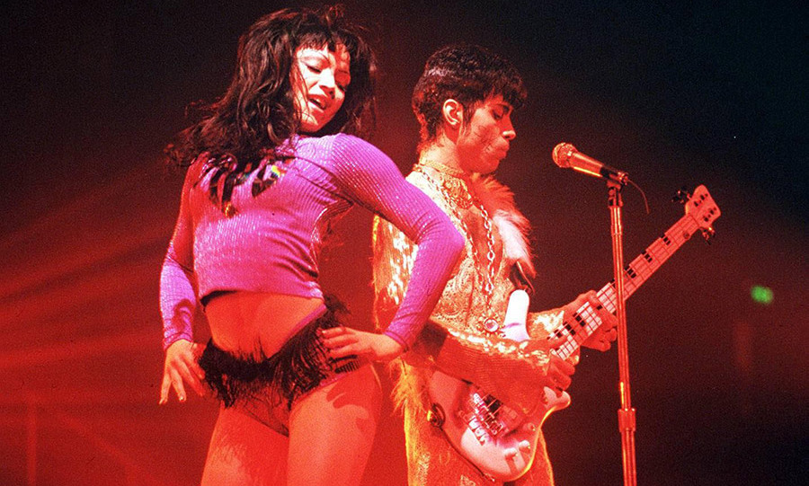 The musician hired Mayte as a dancer on his Diamonds and Pearls tour.