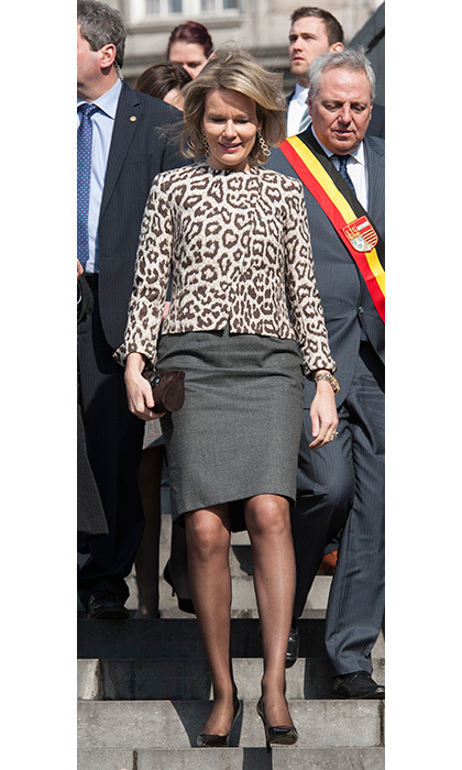 <h3>Queen Mathilde of Belgium</h3>