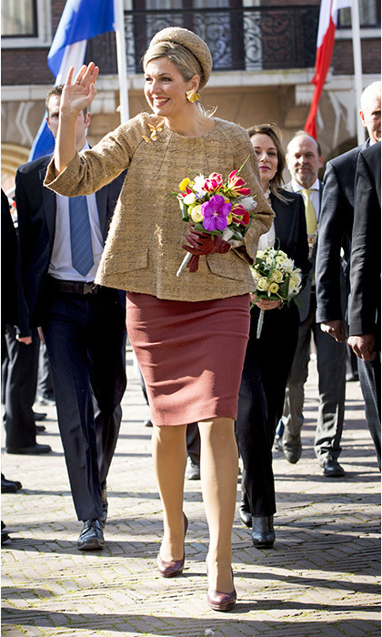 <h3>Queen Máxima of the Netherlands</h3>