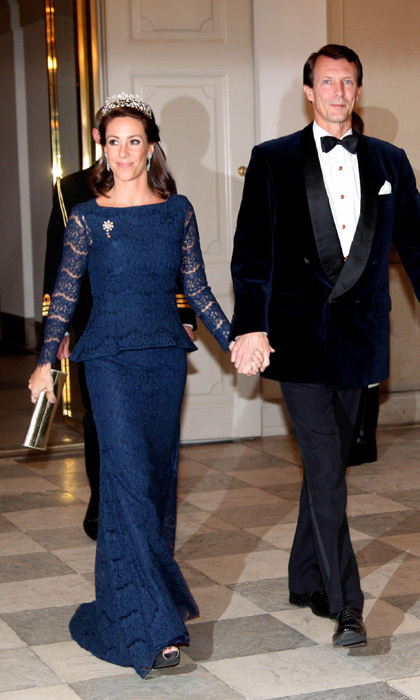 <h3>Princess Marie of Denmark with her husband Prince Joachim</h3>