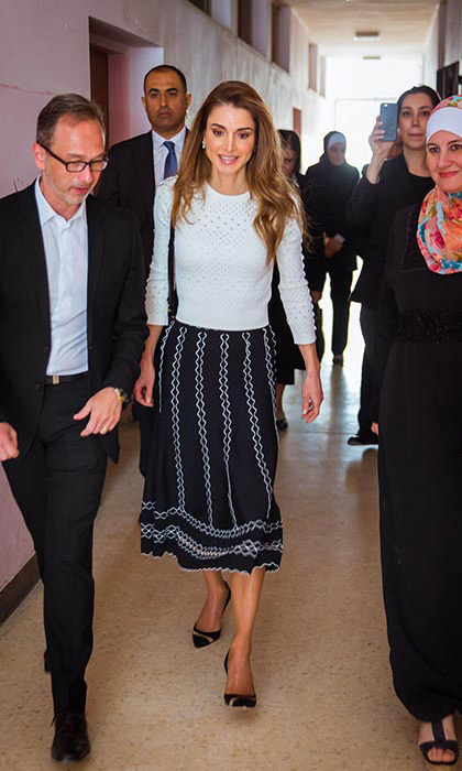 <h3>Queen Rania of Jordan