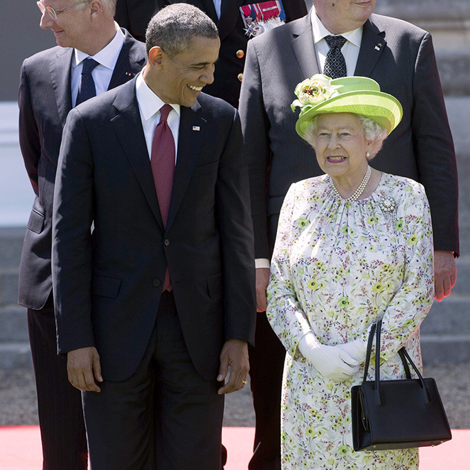 Barack Obama and the Queen were last pictured together in June 2014.