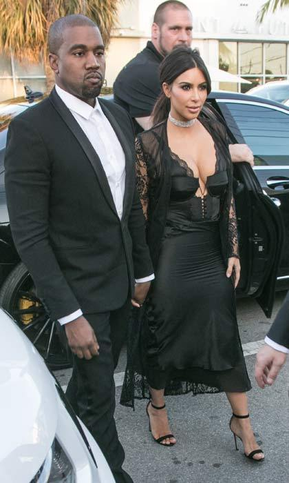 "Kanye West and Kim Kardashian attended the wedding of Miami nightclub king David Grutman in Miami over the weekend. While the groom was giving his speech, Kanye grabbed the mic and said ""Imma let you finish but… David Grutman had one of the best wedding's of all time,"" a nod to his 2009 VMA moment with Taylor Swift that had the audience in stitches.