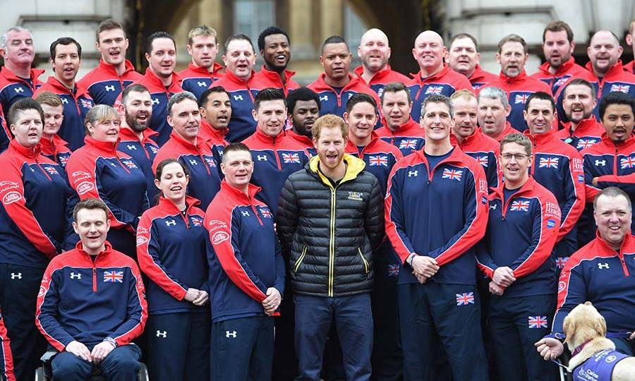 Prince Harry is the patron for the Invictus Games.