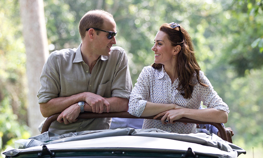 <p>During their tour of India in April 2016, William and Kate set off on safari to see elephants, rhinos, bird species and water buffalo.