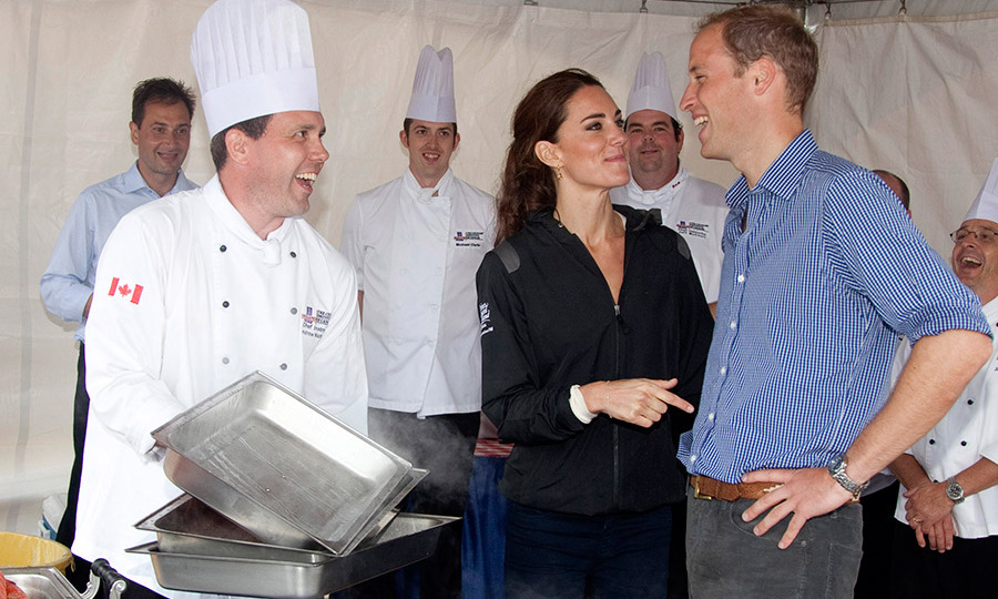 <p>Another sweet snap from the tour showed Kate poking fun at her husband as they visited some culinary stations in Charlottetown.
