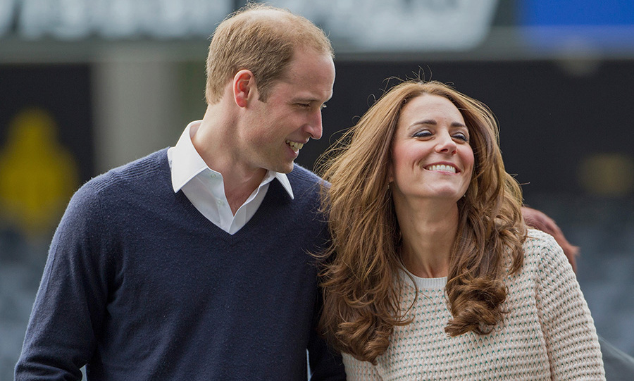 "<p>Kate collapsed in hysterics during a more casual engagement of the couple's tour of New Zealand in 2014 – taking part in a ""Rippa Rugby"" tournament with the All Blacks.