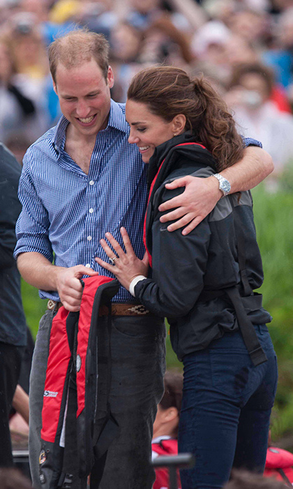 "<p>During their royal tour of Canada in 2011, Kate said of William: ""I'm very, very lucky. He looks after me as much as possible.""