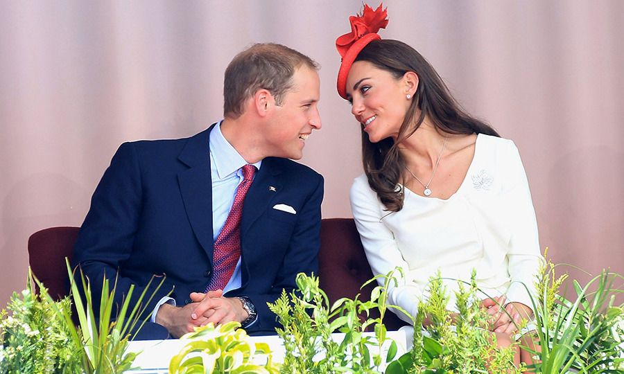 <p>The newlyweds had the look of love about them as they kicked off the second day of their tour of Canada. William and Kate had been married for just two months before they undertook their first long-haul official trip abroad.