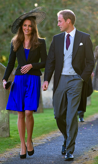 <p>When William and Kate attended the wedding of their friends Harry Meade and Rosie Bradford in October 2010, the couple were already engaged.