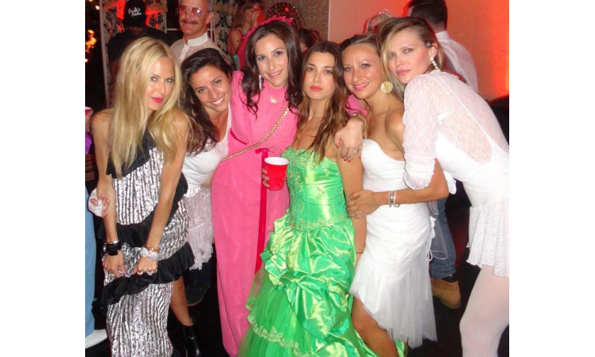 Celebrity stylist Rachel Zoe posted several photos from the bash on her Instagram account.