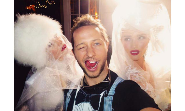 """Happy Birthday to the ultimate hotmess @derekblasberg ❤️#Hotmess.""