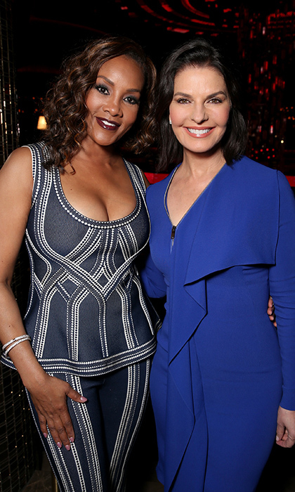 Vivica A. Fox and Sela Ward. 