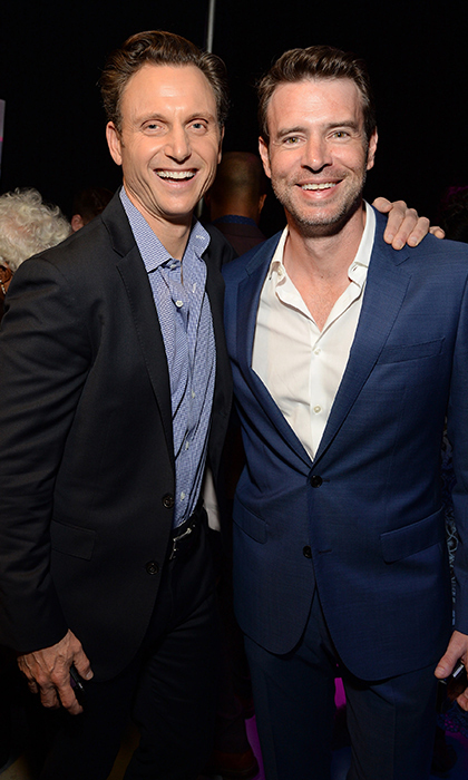 <i>Scandal</i>'s Tony Goldwyn and Scott Foley. 