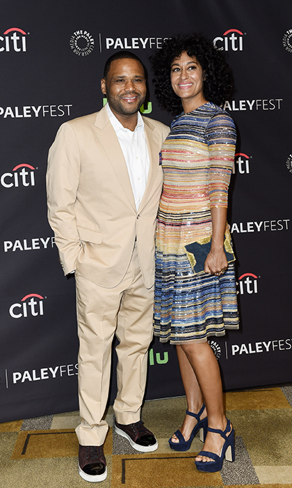 <i>Blackish</i> stars Anthony Anderson and Tracee Ellis Ross. 