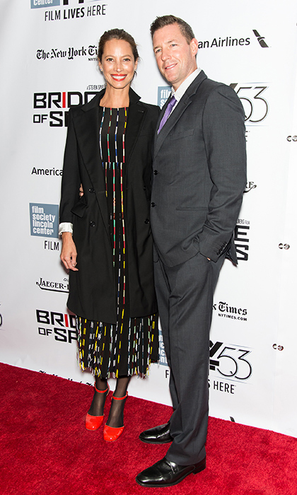 Christy Turlington and Ed Burns. 