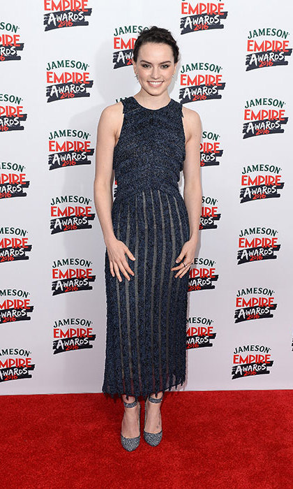 Daisy Ridley has given fans a sneak peek at her gruelling workout routine.