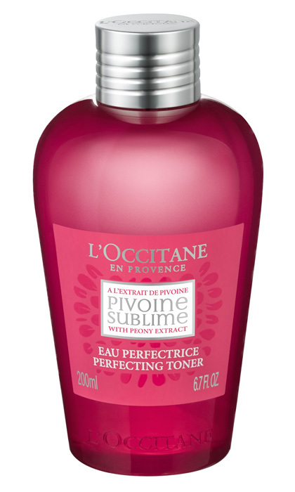 "<strong>L'Occitane En Provence Peony Perfecting Toner, $30, at L'Occitane en Provence and <a href=""http://loccitane.com"">loccitane.com</a></strong><br>