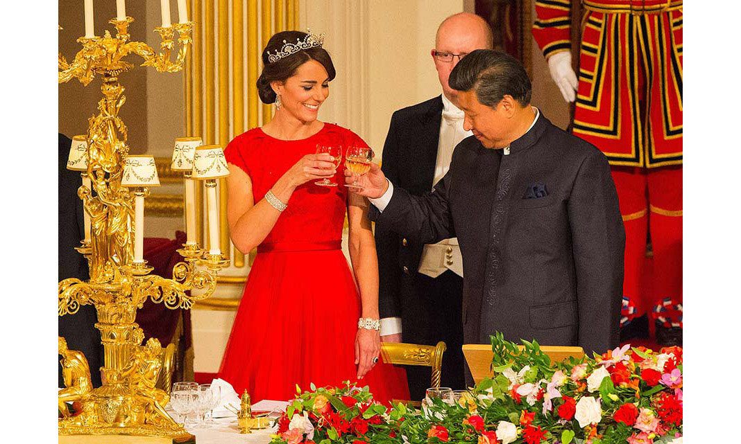 <strong>First state banquet: October 2015