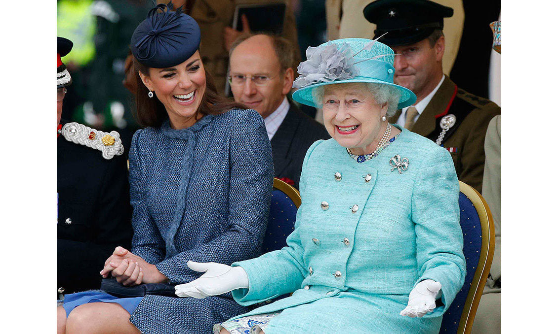 <strong>Queen's Diamond Jubilee celebrations: 2012