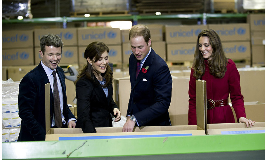 <strong>First overseas engagement: November 2011